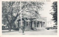 Dodge Memorial Library, in Rouse's Point, NY.