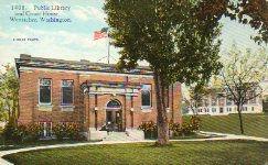 Wenatchee, WA Carnegie library