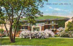 Detroit Lakes, MN Prairie-style Carnegie library