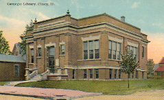 Olney, IL Carnegie library