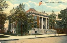 Streator, IL Carnegie library