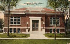Columbus, NE Carnegie library