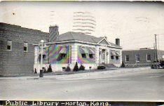 Horton, KS public library