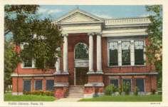 Paris, IL Carnegie library