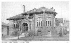Harvey, IL Carnegie library. Demolished.