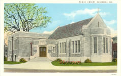 Rushville, IN public library