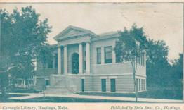 Hastings, NE Carnegie library