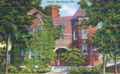 Skowhegan, ME Library
