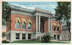 Carnegie-Dayton library of Cedar Falls, IA.
