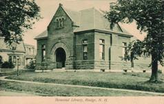 Ingalls Memorial Library, Rindge, NH