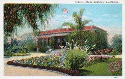 Monrovia, CA Carnegie library