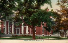 Angelica, NY public library