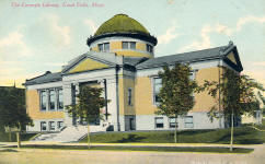 Great Falls, MT Carnegie library, now demolished