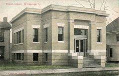 Petersburg, IL Carnegie library
