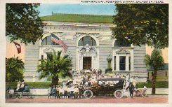 Rosenberg day at Galveston's public library