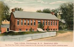 Peterborough, NH public library