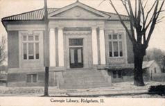 Ridge Farm, IL Carnegie library