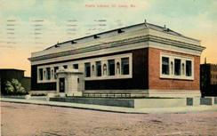 Crunden Branch, Carnegie-funded, of the St. Louis Library