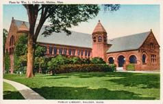 Malden, MA public library