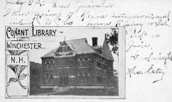 Conant Library, Winchester, NH