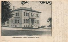 Howe Memorial Library, Shrewsbury, MA