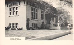 Pittsburg, KS Carnegie library