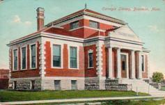 Bozeman, MT Carnegie library