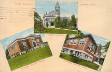 3 Dayton library buildings, 2 of which were funded by Andrew Carnegie