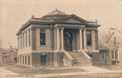 Madison, Minnesota's Carnegie library.