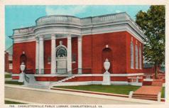 Charlottesville, VA library