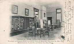 Periodical Room, Syracuse Public Library