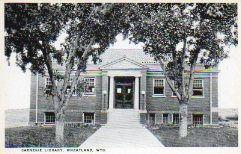 Wheatland, WY Carnegie library.