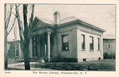 Blount Library, Franklinville, NY