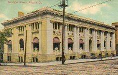 Antlanta, GA Carnegie library building