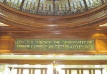 Carnegie dedication, Library, Lincoln, IL