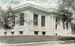 Bedford, Indiana Carnegie library, by C.U. Williams