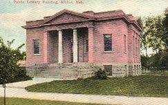 Albion, NE Carnegie library