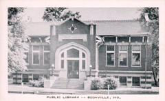 Boonville, Indiana Canegie library