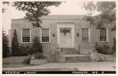 Hutchinson Memorial Library, Randolph, WI