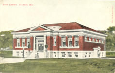 Aram Public Library, Delavan, WI