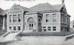 Romanesque, Carnegie funded and still standing: San Luis Obispo Library hit the trifecta.