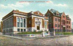Zanesvile, OH Carnegie library