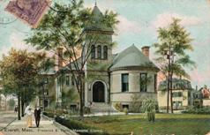 Parlin Memorial Library, Everett, MA
