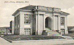 Livingston, MT Carnegie library