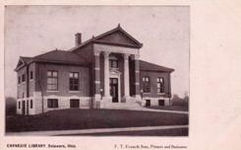 Delaware, OH Carnegie library