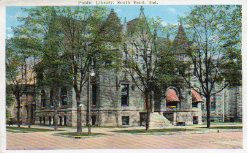 South Bend, IN's 'Castle' public library, now demolished