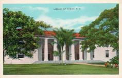 Library of Hawaii, funded by Andrew Carnegie