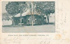 Town Hall and Public Library, Chelsea, Vt.