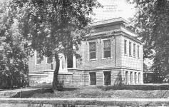 Maryville, MO Carnegie library building, since demolished.