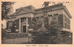 Eveleth, MN Carnegie library